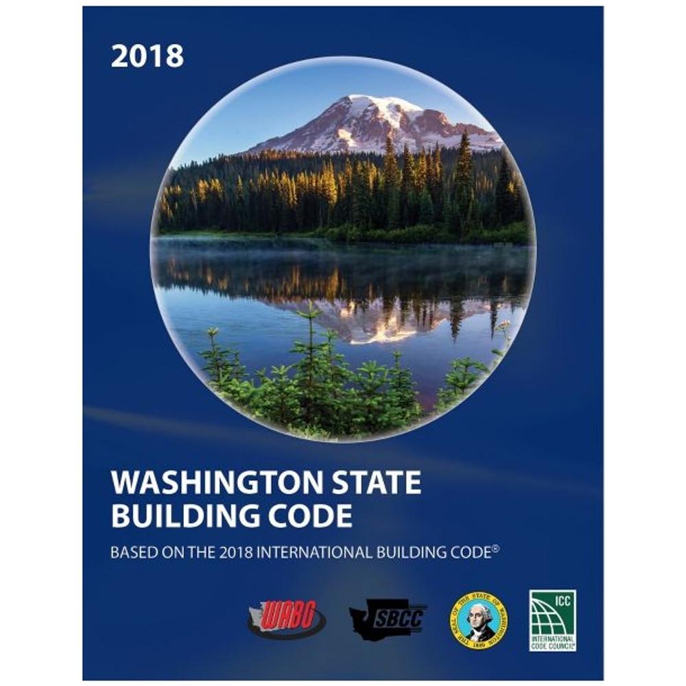 2018 Washington State Building Code - ISBN#9781609839772
