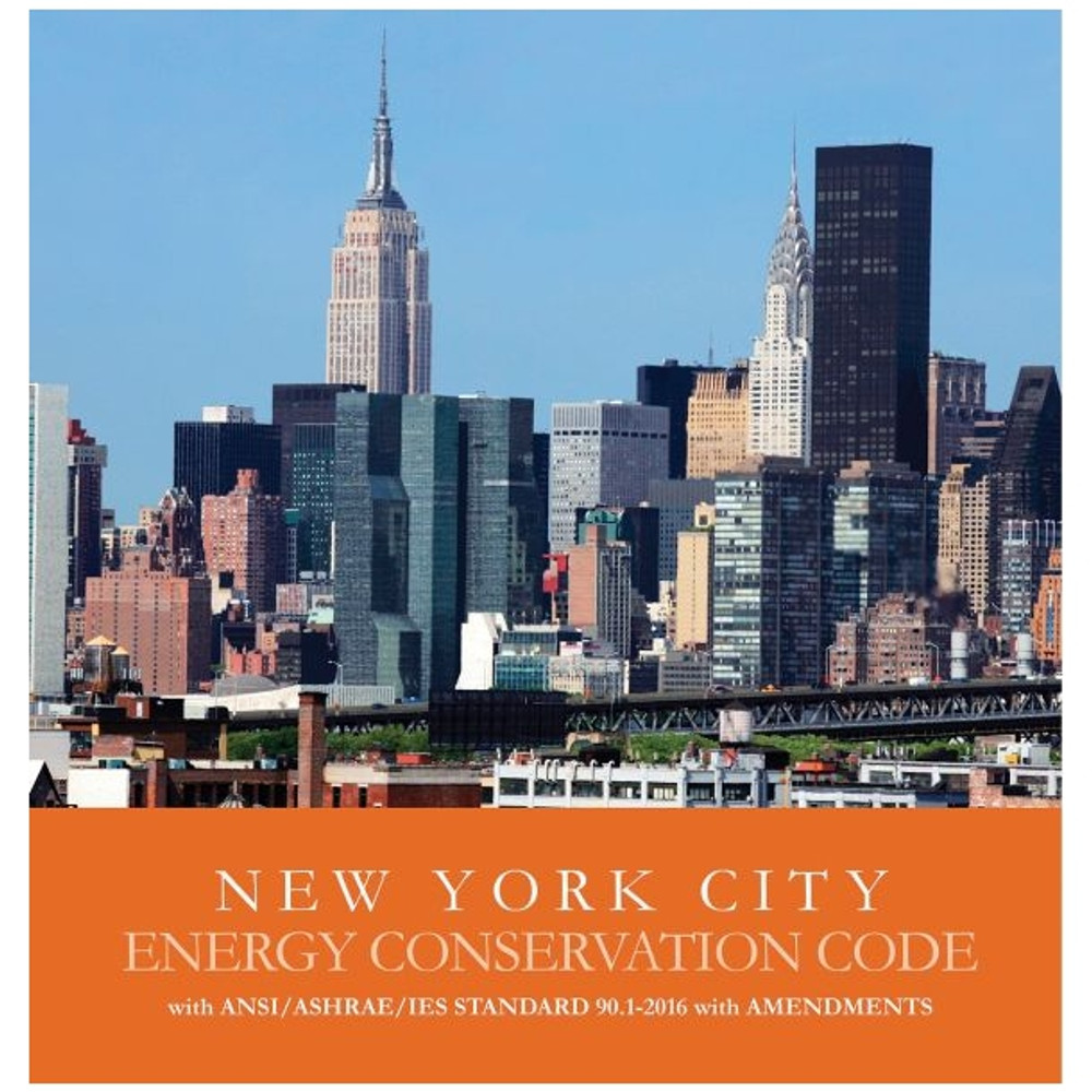 2020 New York City Energy Conservation Code - ISBN#9781609839918