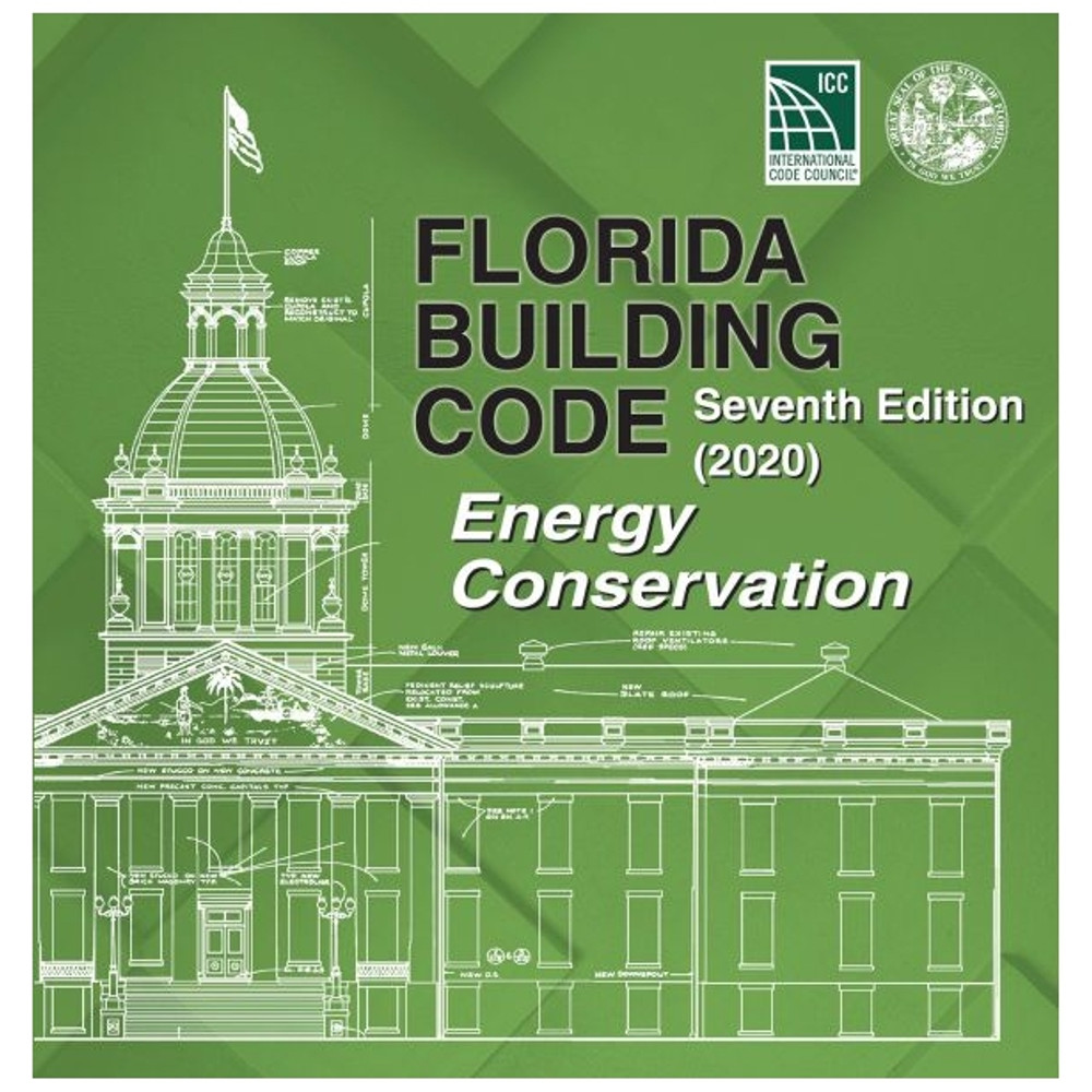 Florida Building Code - Energy Conservation (2020) - ISBN#9781952468179
