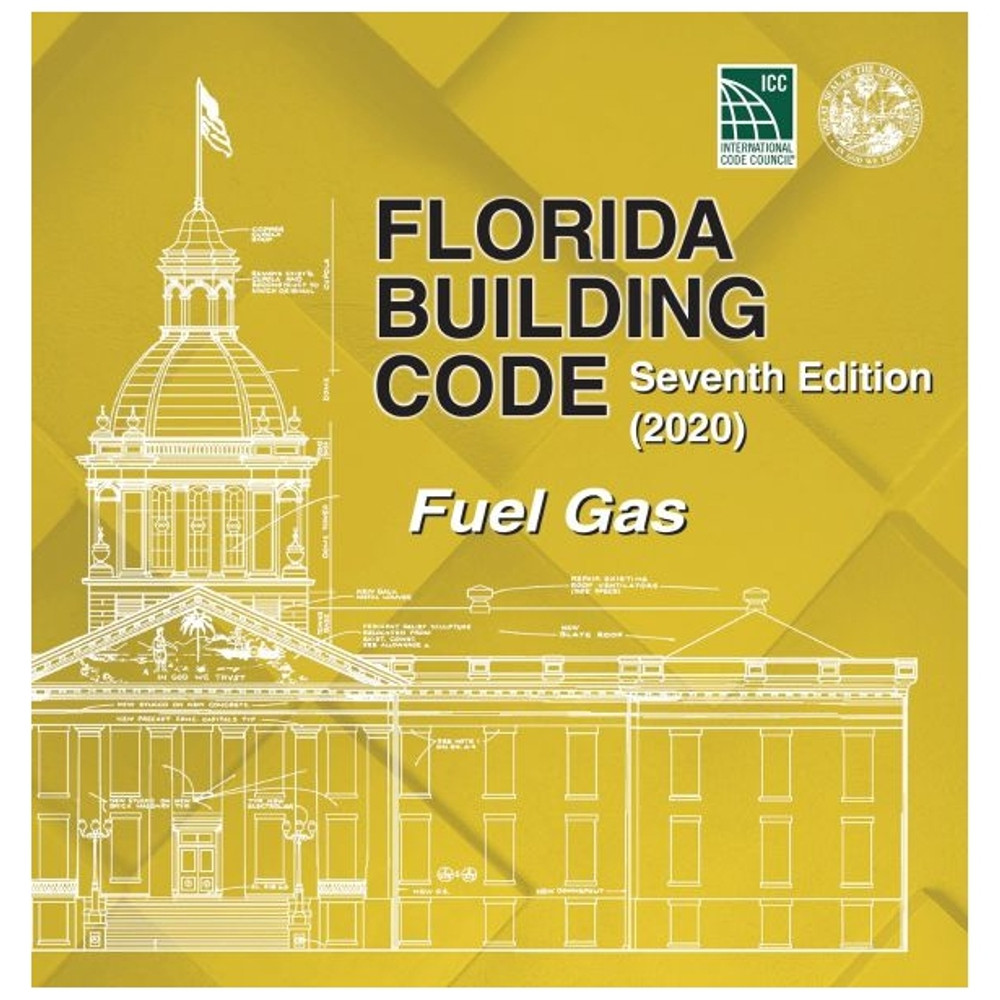 Florida Building Code - Fuel Gas (2020) - ISBN#9781952468131