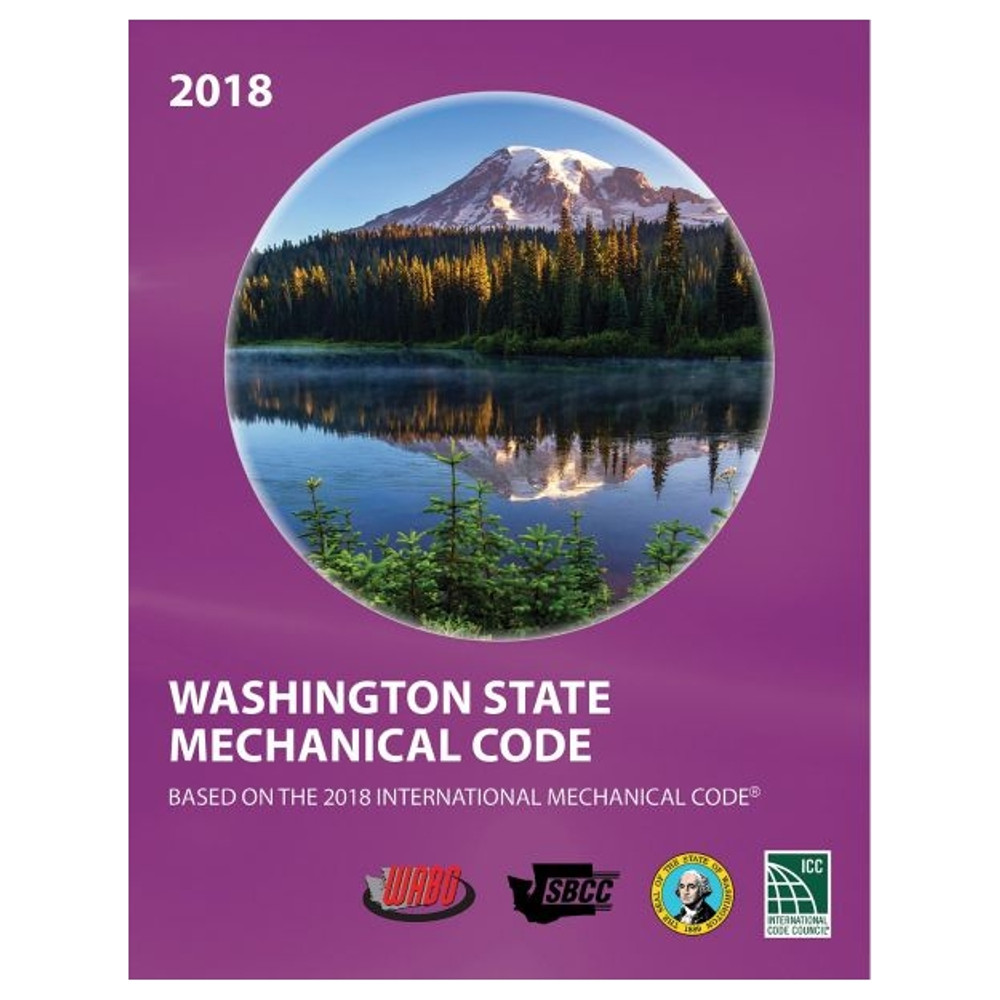 2018 Washington State Mechanical Code - ISBN#9781609839871
