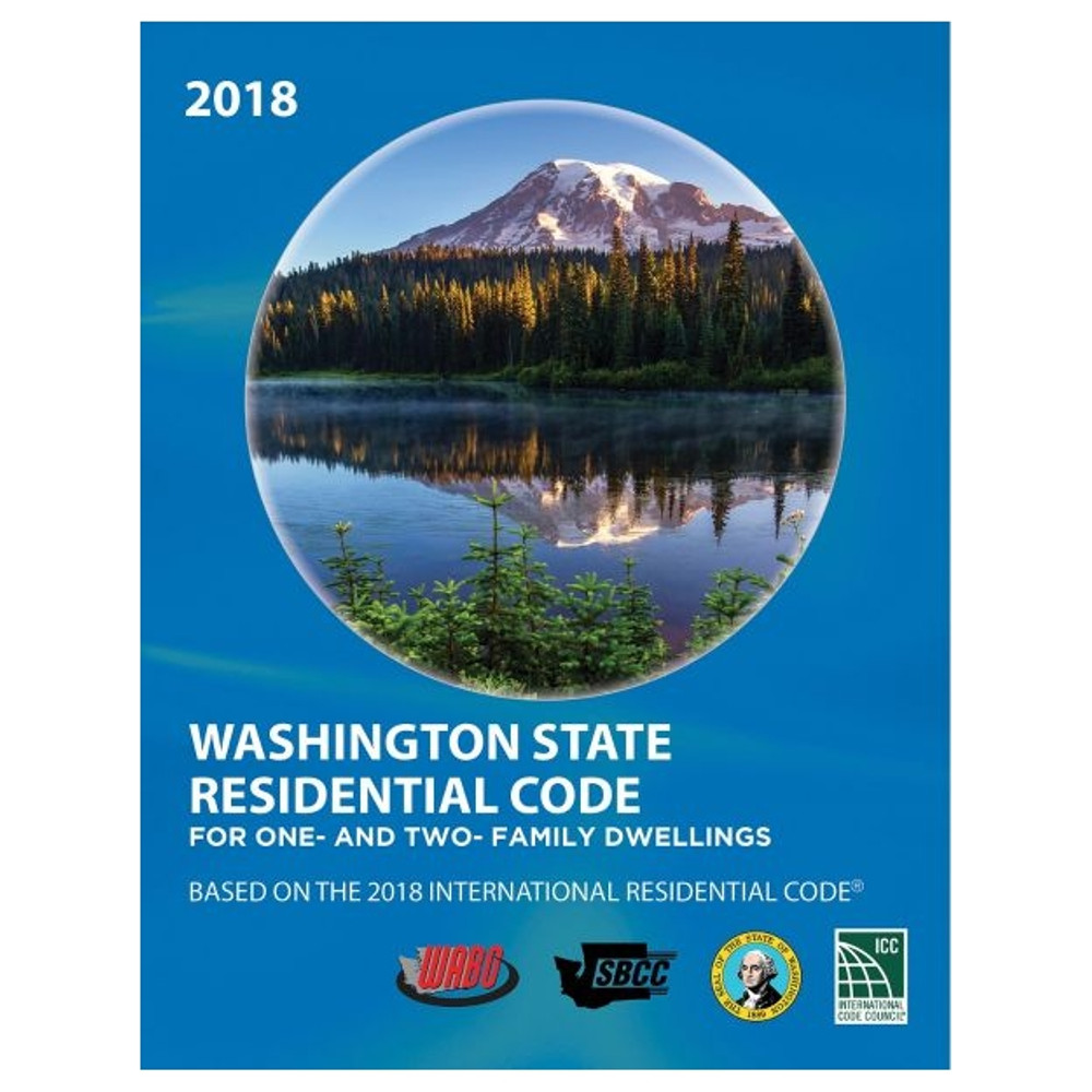 2018 Washington State Residential Code - ISBN#9781609839864