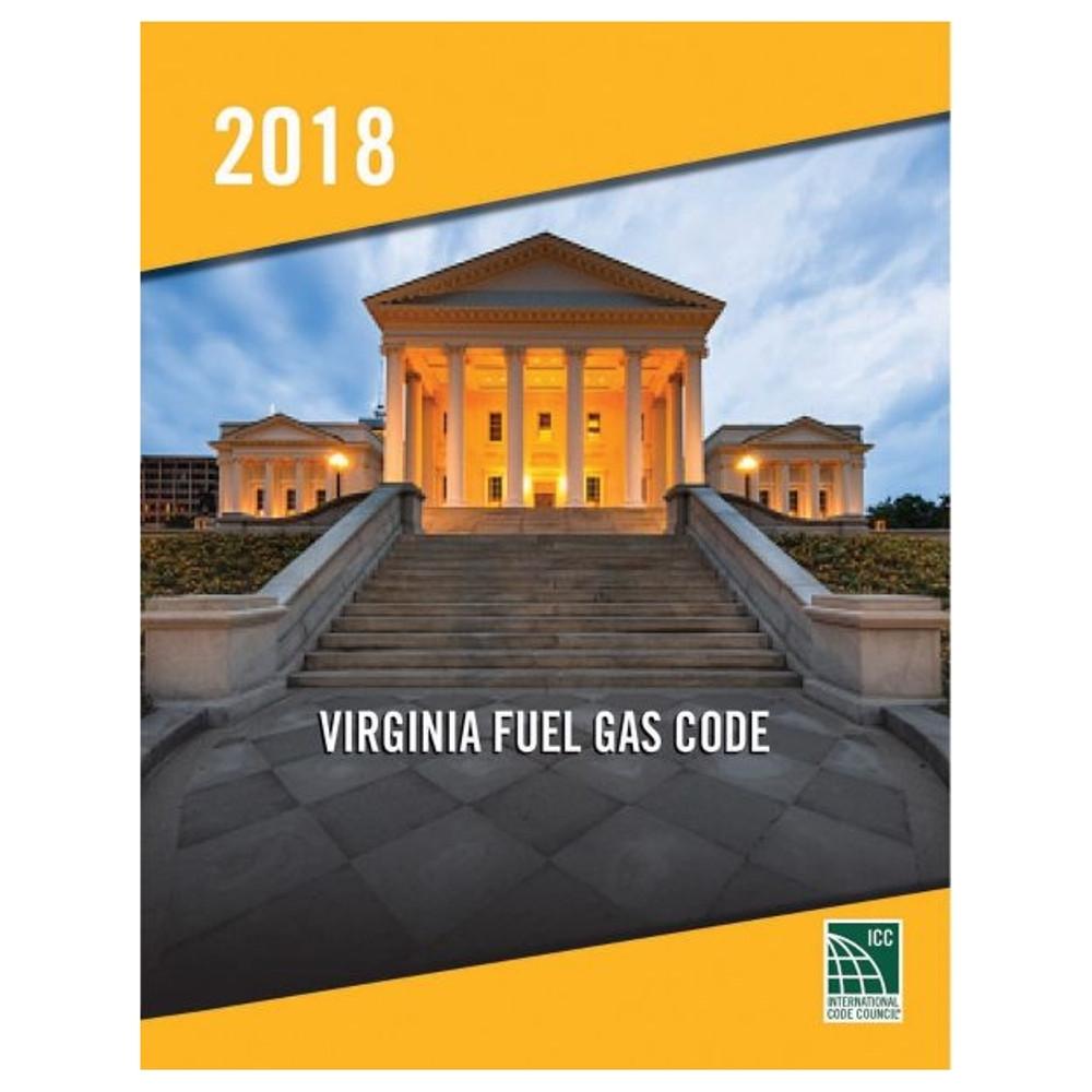 2018 Virginia Fuel Gas Code - ISBN#9781955052832