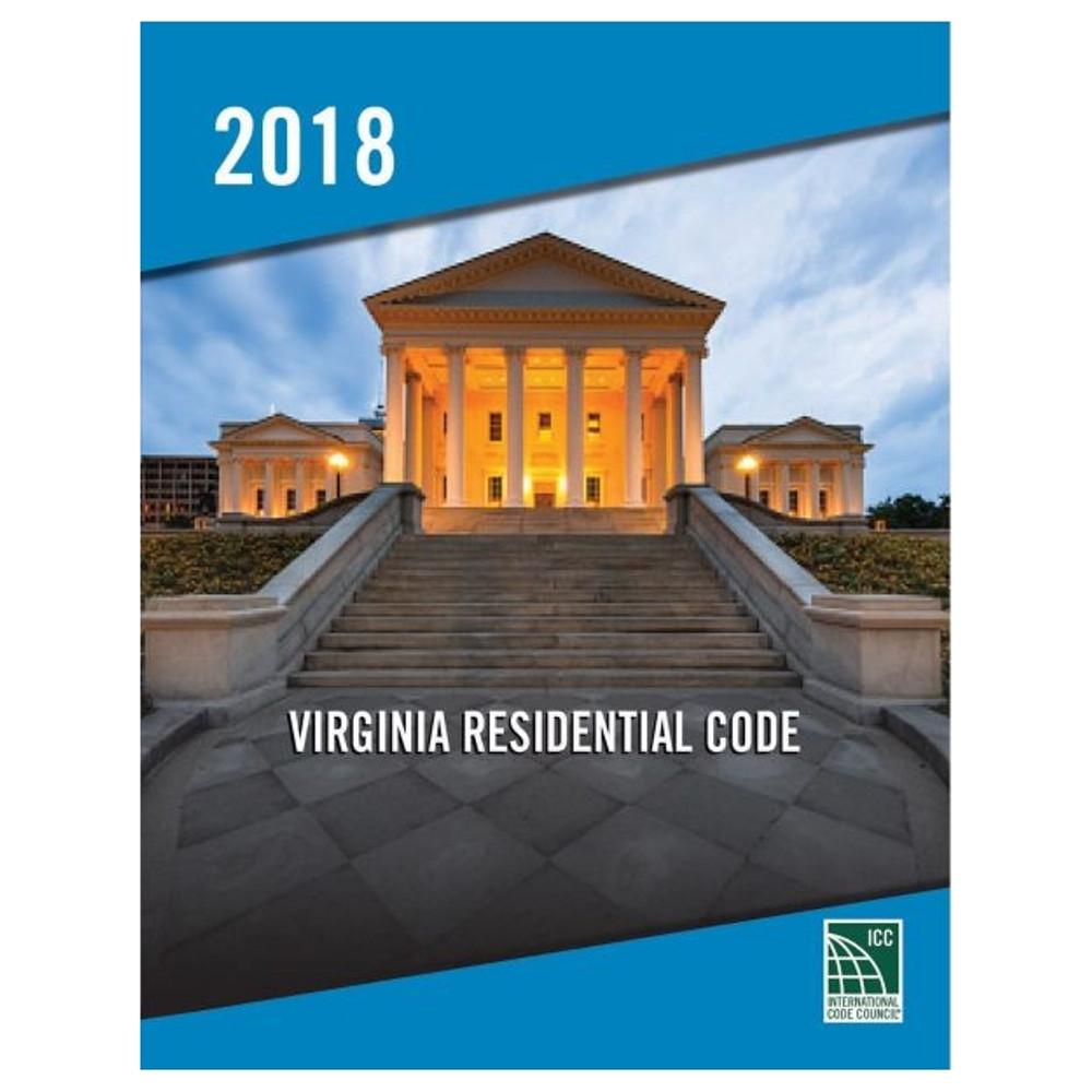 2018 Virginia Residential Code - ISBN#9781955052757