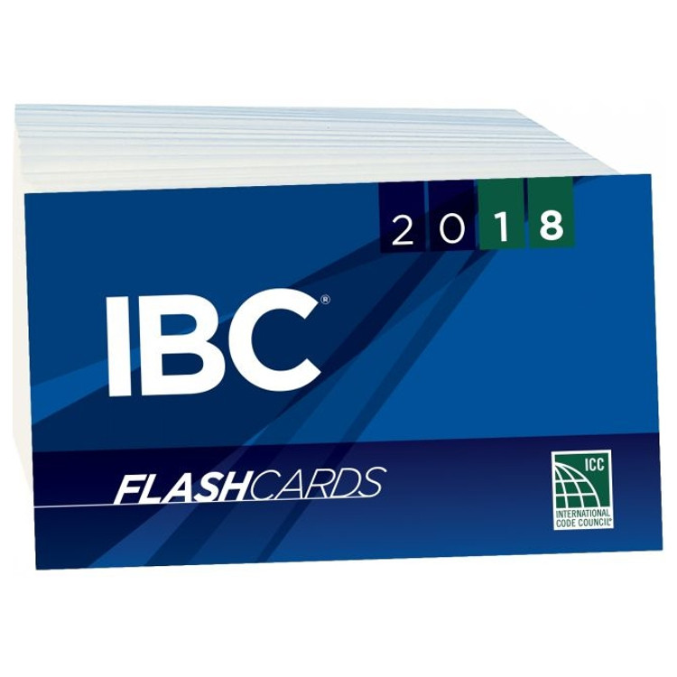 2018 IBC Flash Cards - ISBN#9781609838119