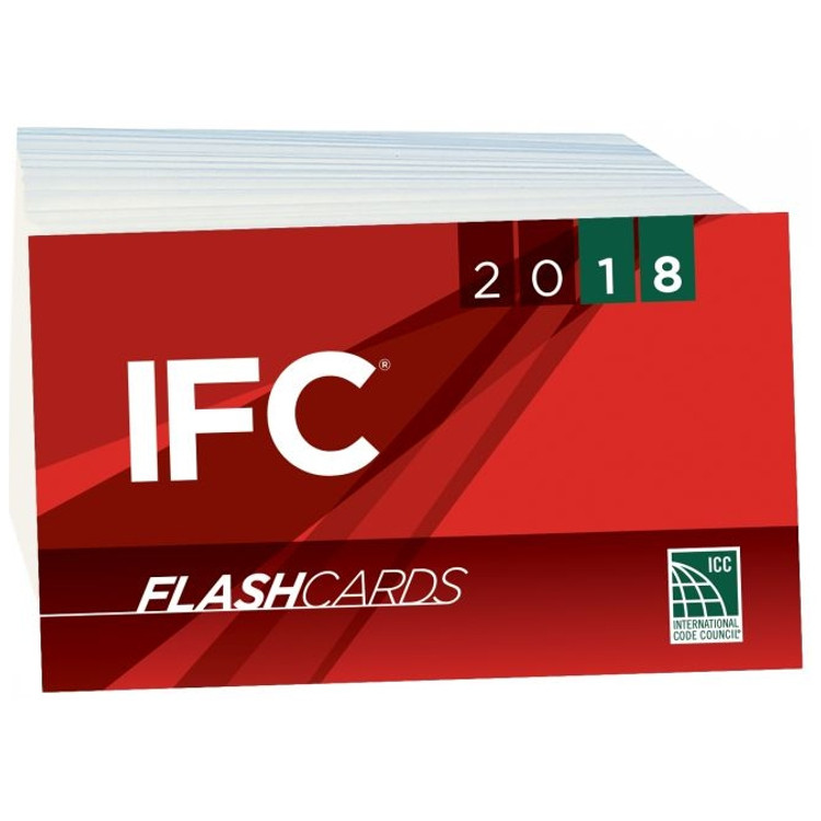 2018 IFC Flash Cards - ISBN#9781609838133