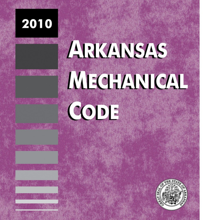 2010 Arkansas Mechanical Code - ISBN#9781580019064