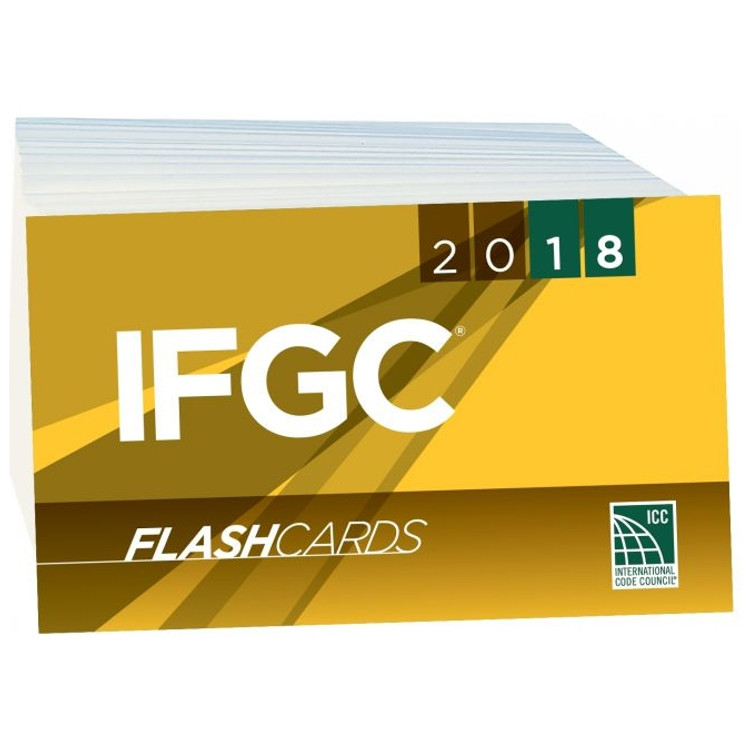 2018 IFGC Flash Cards - ISBN#9781609838164
