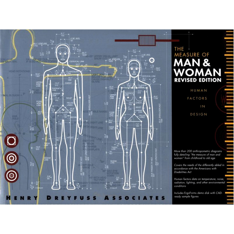 The Measure of Man and Woman: Human Factors in Design Revised Edition - ISBN#9780471099550