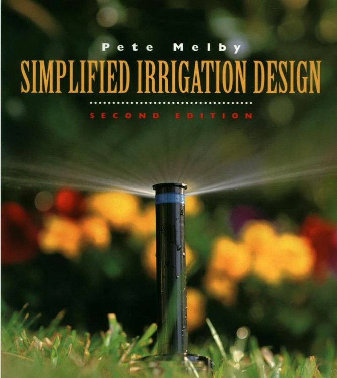 Simplified Irrigation Design 2nd Edition - ISBN#9780471286226