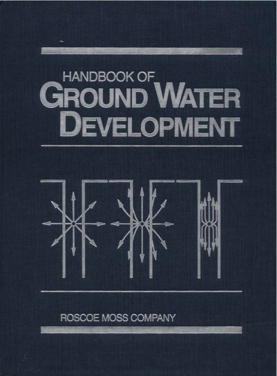 Handbook of Ground Water Development - ISBN#9780471856115