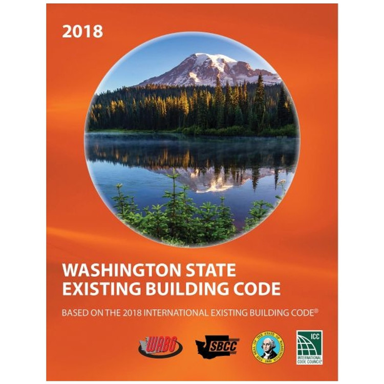 2018 Washington State Existing Building Code - ISBN#9781609839789