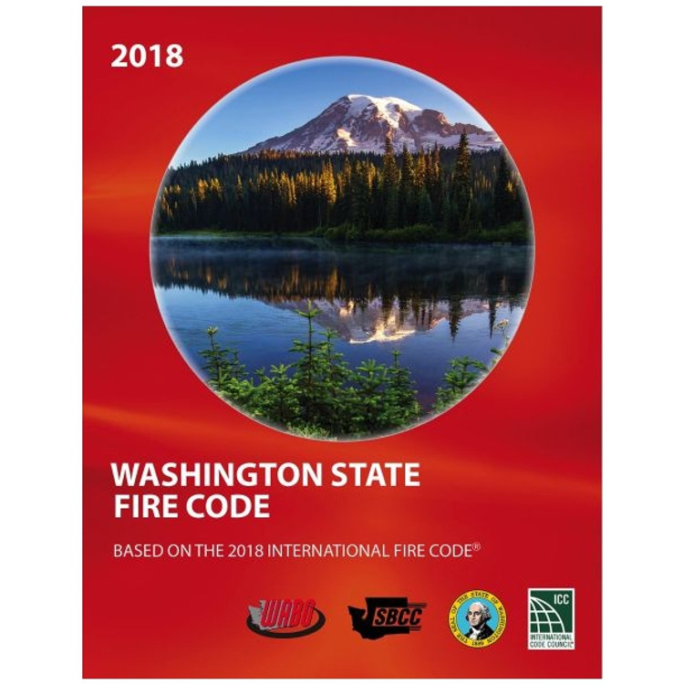 2018 Washington State Fire Code - ISBN#9781609839796