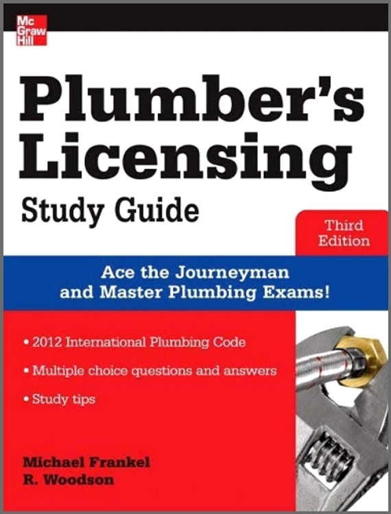Plumber's Licensing Study Guide 3rd Edition - ISBN#9780071798075