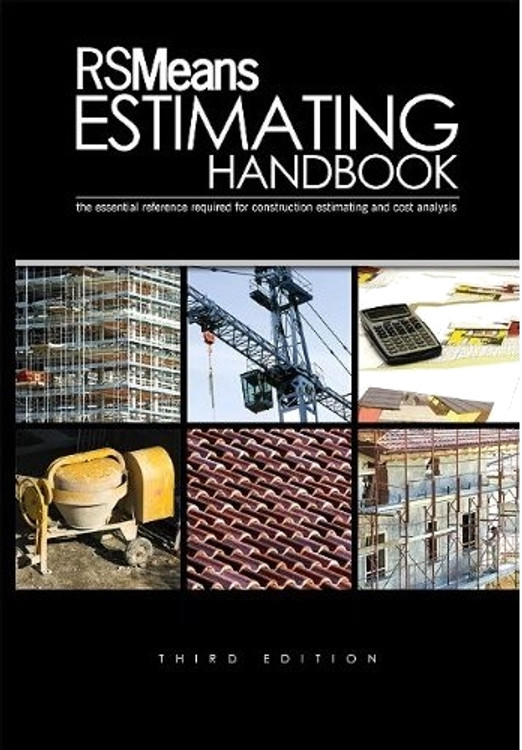 RSMeans Estimating Handbook 3rd Edition - ISBN#9780876292730