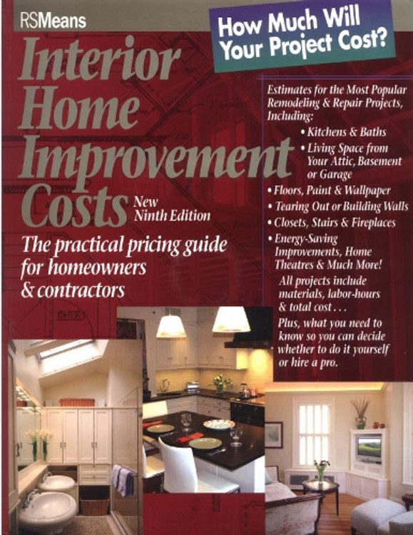 Interior Home Improvement Costs - ISBN#9780876297438
