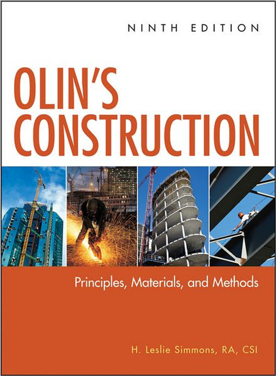 Olin's Construction 9th Edition - ISBN#9780470547403