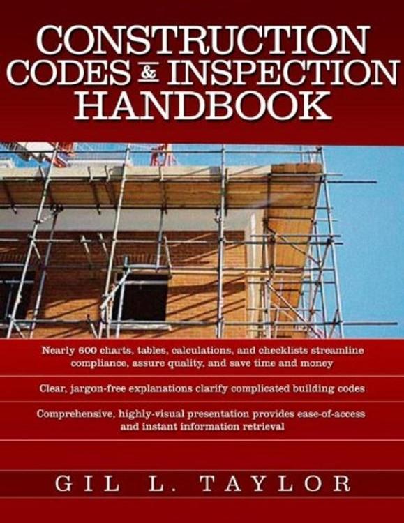 Construction Codes & Inspection Handbook - ISBN#9780071468251