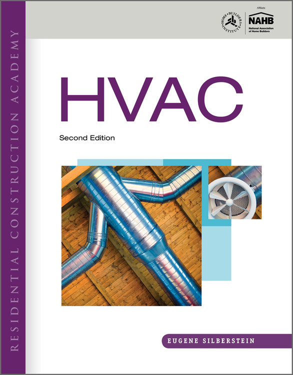 DVD Set for Residential Construction Academy: HVAC 2nd Edition - ISBN#9781439055984