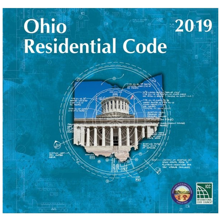 2019 Residential Code of Ohio - ISBN#9781609839055