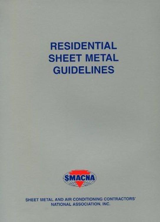 Residential Sheet Metal Guidelines - ISBN#9781617210679