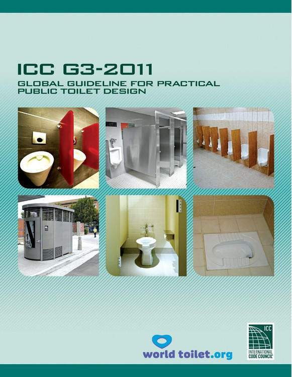 ICC G3-2011: Global Guideline for Practical Public Toilet Design - ISBN#9781609831769