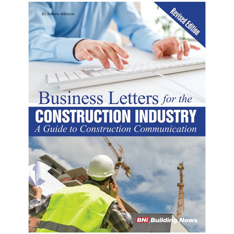 Business Letters for the Construction Industry - ISBN#9781557019172