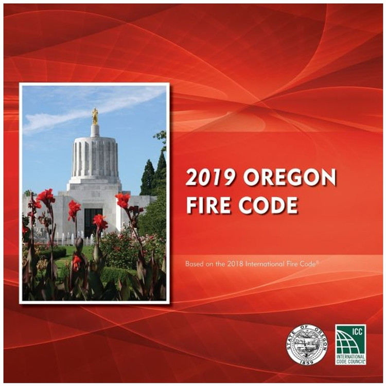 2019 Oregon Fire Code - ISBN#9781609839376