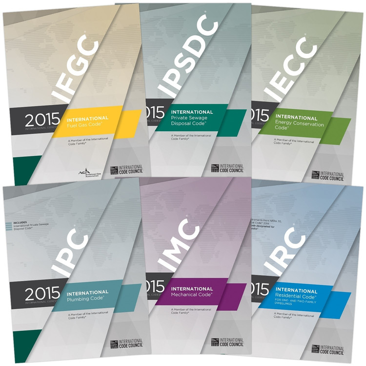 2015 International Codes Plumbing and HVAC Collection