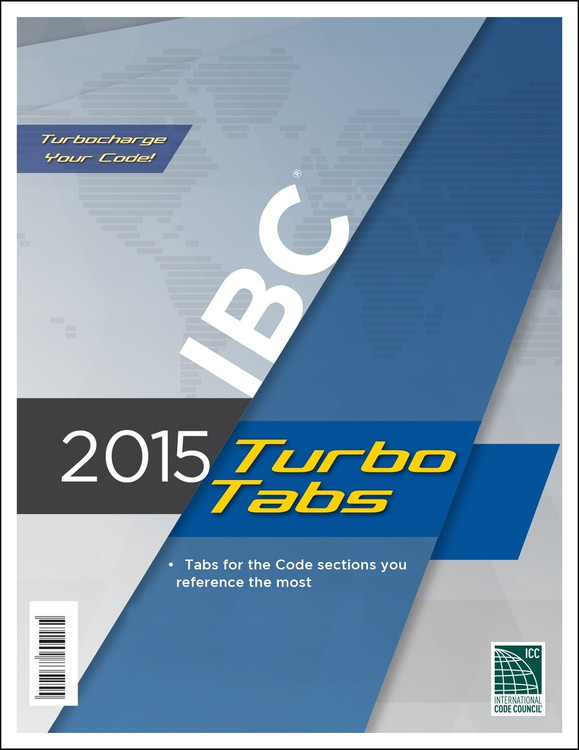 2015 IBC Turbo Tabs (Looseleaf) - ISBN#9781609835255