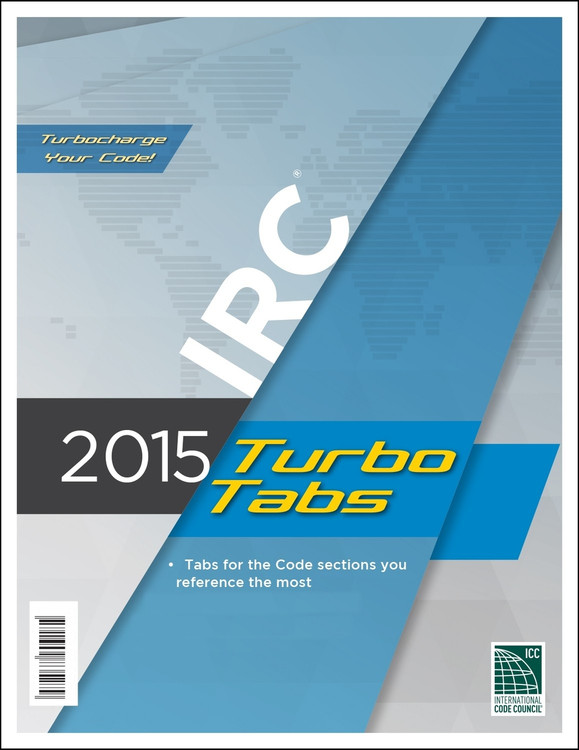 2015 IRC Turbo Tabs (Looseleaf) - ISBN#9781609835279
