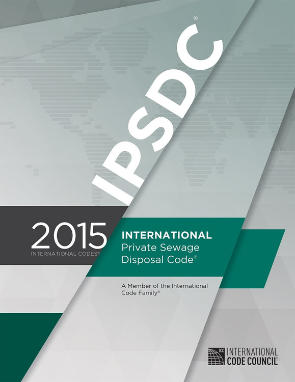 2015 International Private Sewage Disposal Code - ISBN#9781609834838