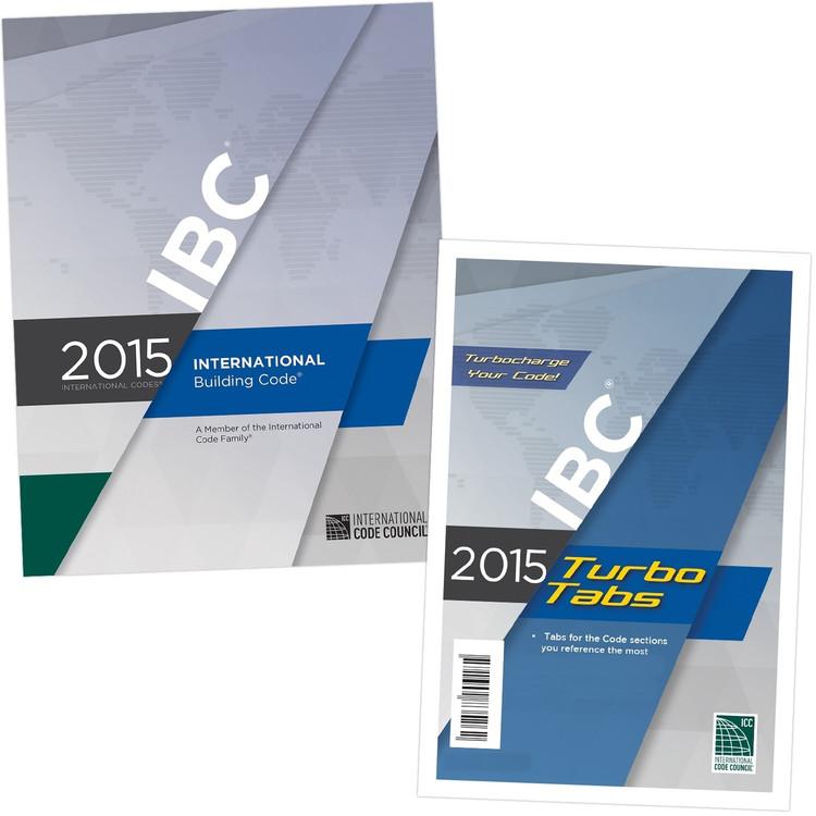 2015 International Building Code & Tab Set