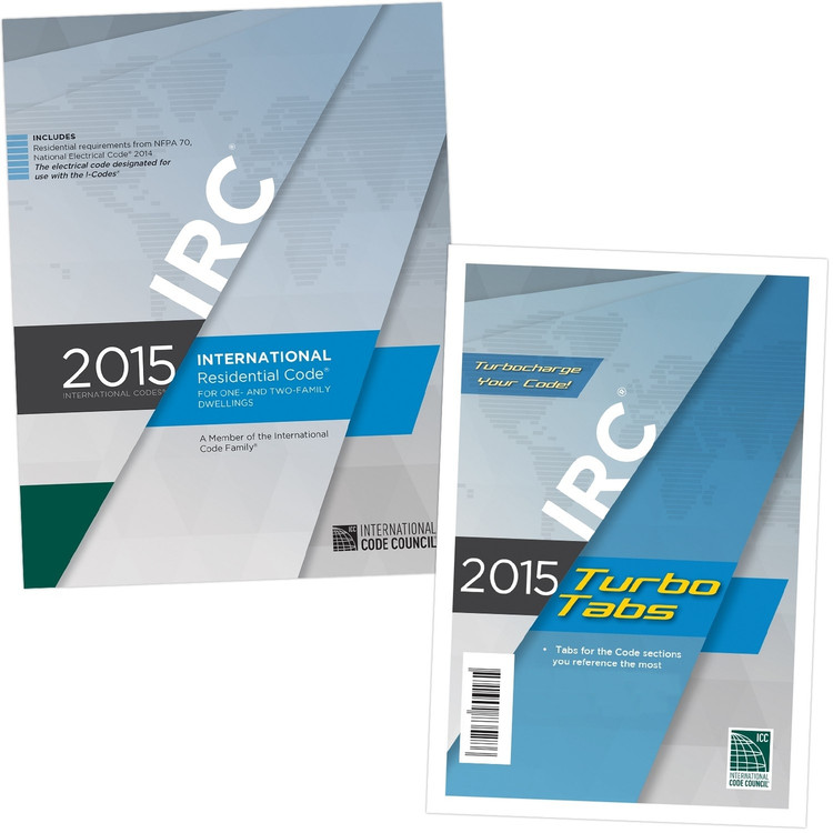 2015 International Residential Code & Tab Set