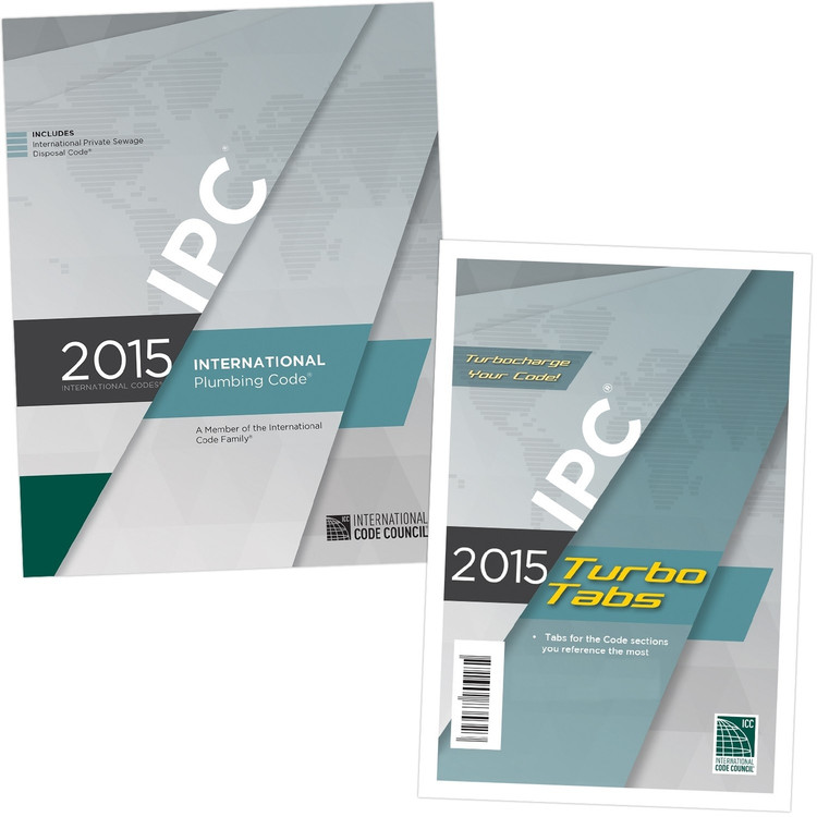 2015 International Plumbing Code & Tab Set