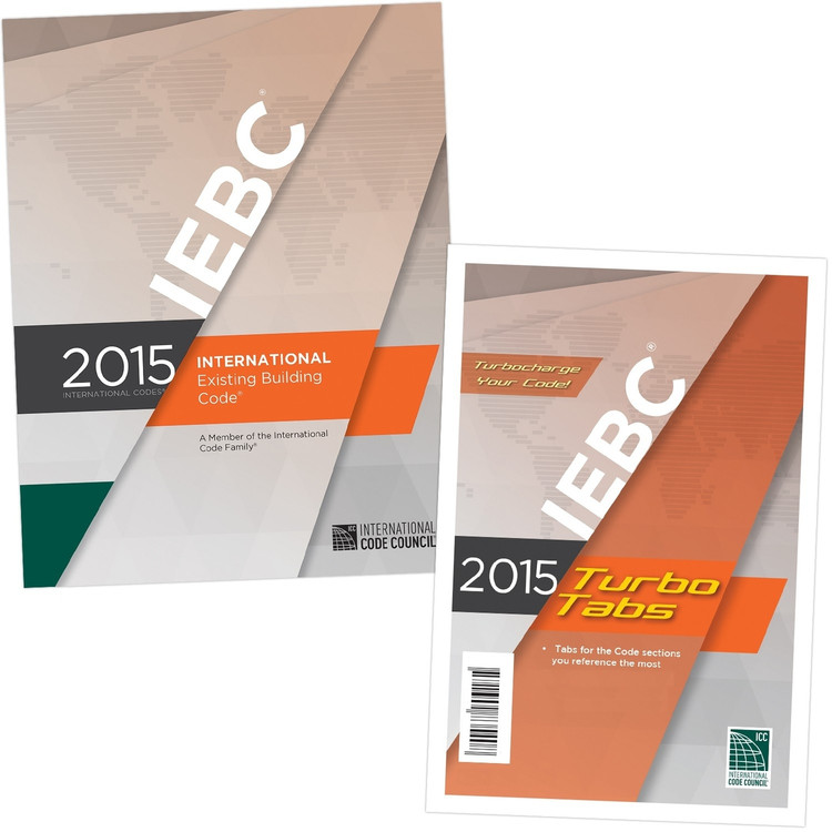 2015 International Existing Building Code & Tab Set