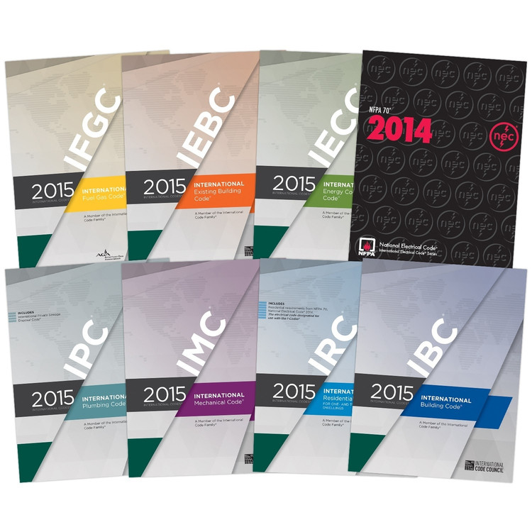 2015 International Codes Inspectors Collection (Looseleaf)