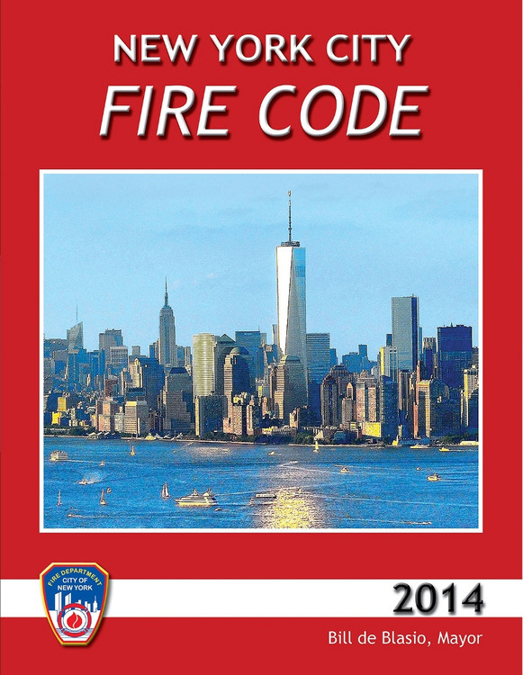 2014 New York City Fire Code - ISBN#9781609835880