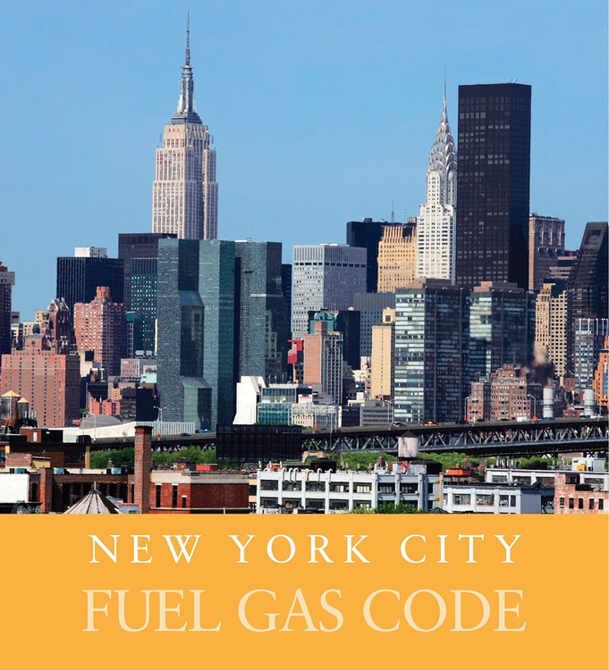 2014 New York City Fuel Gas Code - ISBN#9781609835903