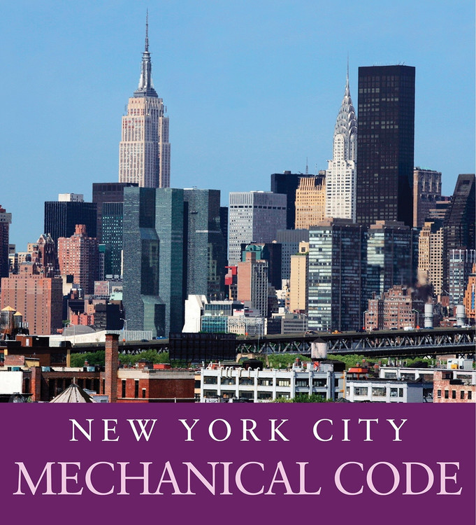 2014 New York City Mechanical Code - ISBN#9781608935927