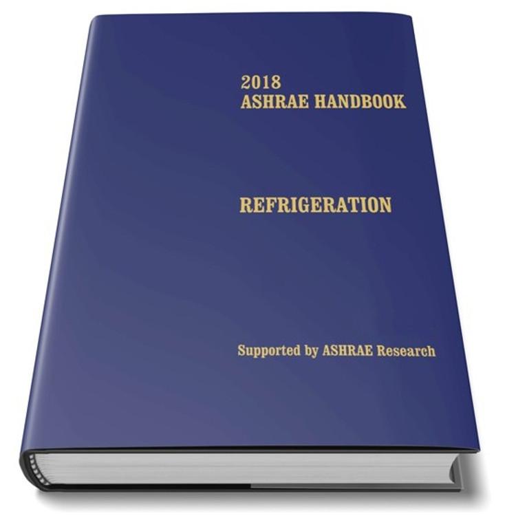 2018 ASHRAE Handbook Refrigeration - ISBN#9781939200976
