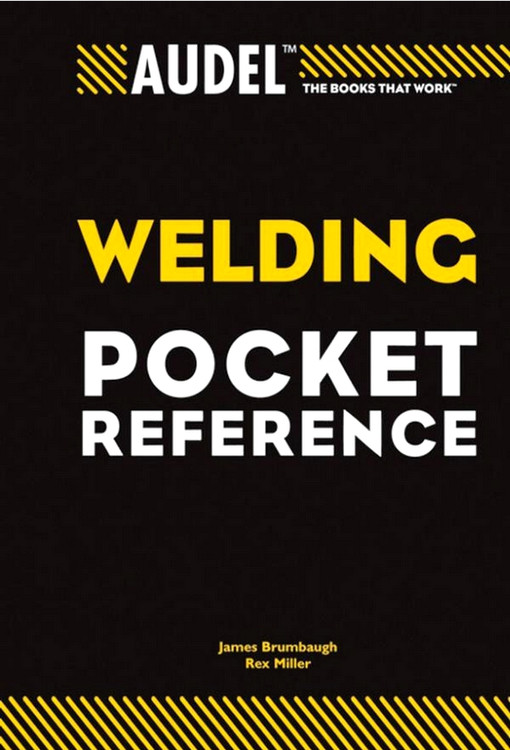 Audel Welding Pocket Reference - ISBN#9780764588099