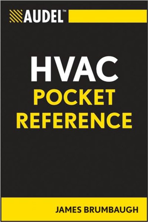 Audel HVAC Pocket Reference - ISBN#9780764588105