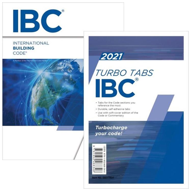 2021 International Building Code plus Tabs