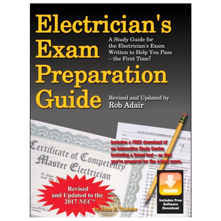 Electrician's Exam Preparation Guide - ISBN#9781572183520