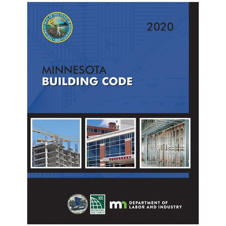 2020 Minnesota Building Code - ISBN#9781609839901