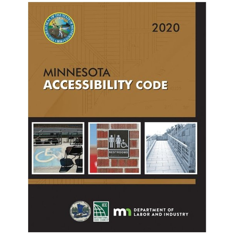 2020 Minnesota Accessibility Code - ISBN#9781609839956