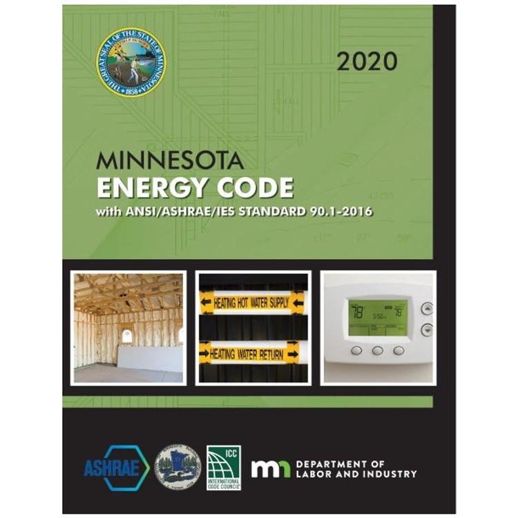 2020 Minnesota Energy Code - ISBN#9781609839949