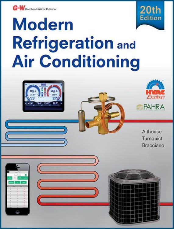 Modern Refrigeration and Air Conditioning 20th Edition - ISBN#9781631263545