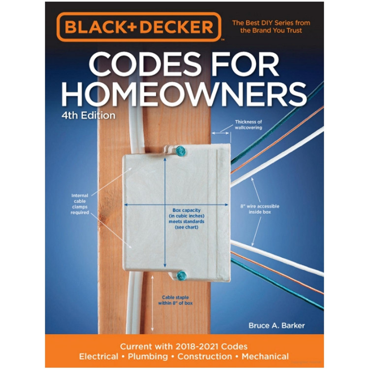 Black & Decker Codes for Homeowners-ISBN#9780760362518